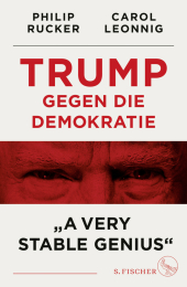 "Trump gegen die Demokratie - ""A Very Stable Genius"" Cover"
