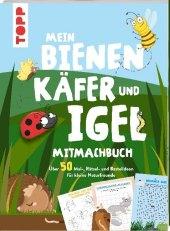 Mein Bienen, Käfer und Igel-Mitmachbuch Cover