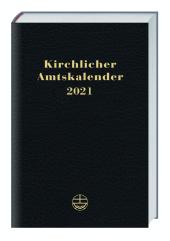 Kirchlicher Amtskalender 2021 - schwarz