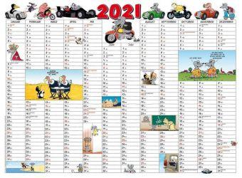 Uli Stein - Jahresplaner 2021: Posterkalender