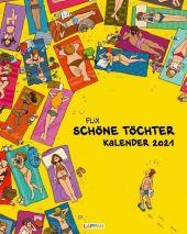 Schöne Töchter Kalender 2021: Monatskalender für die Wand im Großformat