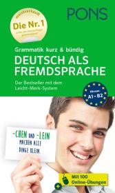PONS Grammatik kurz & bündig Deutsch als Fremdsprache Cover