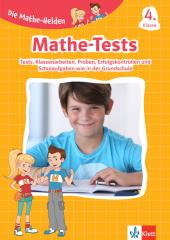 Die Mathe-Helden - Mathe-Tests 4. Klasse Cover