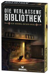 Die verlassene Bibliothek (Spiel) Cover