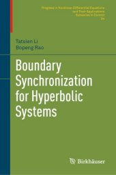 Boundary Synchronization for Hyperbolic Systems