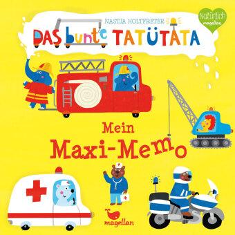 Das bunte Tatütata - Mein Maxi-Memo (Kinderspiel)