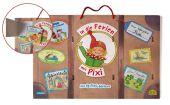 Pixis großer Reisekoffer mit 12 Pixi-Büchern, m. 1 Buch, 11 Teile