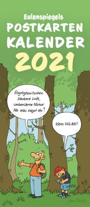 Eulenspiegels Postkartenkalender 2021, 5 Expl.