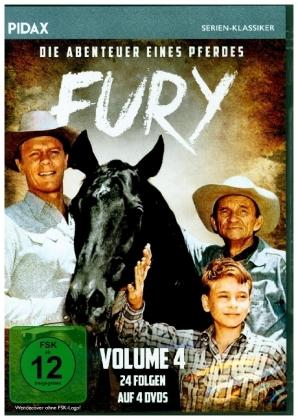 Fury - Die Abenteuer eines Pferdes, 4 DVD