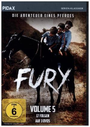 Fury - Die Abenteuer eines Pferdes, 3 DVD