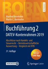 Buchführung 2 DATEV-Kontenrahmen 2019, m. 1 Buch, m. 1 E-Book; . Cover