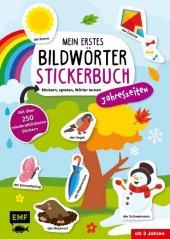 Mein erstes Bildwörter-Stickerbuch - Jahreszeiten