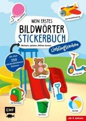 Mein erstes Bildwörter-Stickerbuch - Lieblingssachen