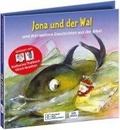 Jona und der Wal - und drei weitere Geschichten aus der Bibel. Die Hörbibel für Kinder. Gelesen von Katharina Thalbach u