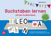 Buchstaben lernen mit der Erzählschiene (Kinderspiel)