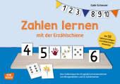 Zahlen lernen mit der Erzählschiene (Kinderspiel)