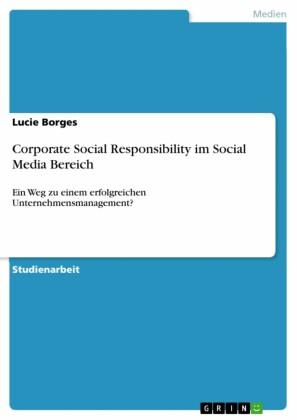 Corporate Social Responsibility im Social Media Bereich
