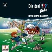 Die drei ??? Kids - Der Fußball-Roboter, 1 Audio-CD Cover
