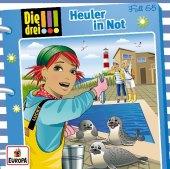 Die drei !!! - Heuler in Not, 1 Audio-CD