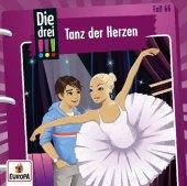 Die drei !!! - Tanz der Herzen, 1 Audio-CD Cover
