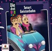 Die drei !!! - Tatort Geisterbahn, 1 Audio-CD Cover