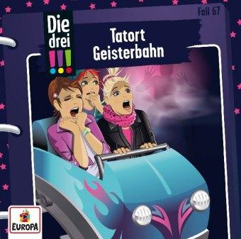 Die drei !!! - Tatort Geisterbahn, 1 Audio-CD