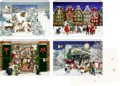 Mini-Adventskalender-Sortiment - Zauberhafte Weihnachtszeit