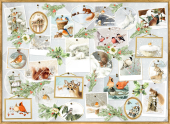 A4-Wandkalender - Marjoleins Wintergalerie