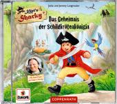 Käpt'n Sharky - Das Geheimnis der Schildkrötenkönigin, Audio-CD Cover