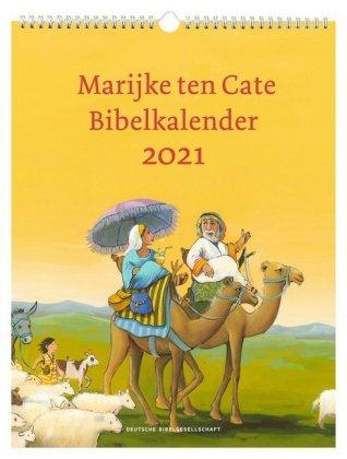 Marijke ten Cate Bibelkalender 2021