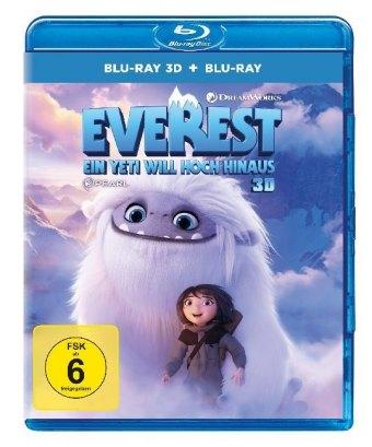 Everest - Ein Yeti will hoch hinaus 3D, 2 Blu-ray