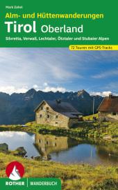 Rother Wanderbuch Alm- und Hüttenwanderungen Tirol Oberland
