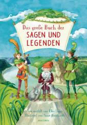 Das große Buch der Sagen und Legenden für Kinder Cover