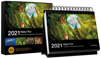 Natur pur 2021, Tischkalender