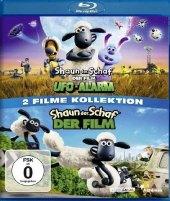 Shaun das Schaf - Der Film: 1 & 2, 2 Blu-ray Cover