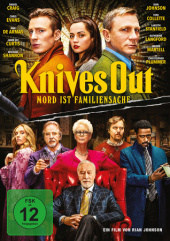 Knives Out - Mord ist Familiensache, 1 DVD Cover
