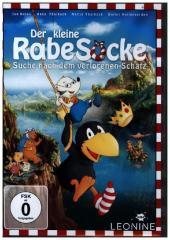Der kleine Rabe Socke - Suche nach dem verlorenen Schatz, 1 DVD Cover