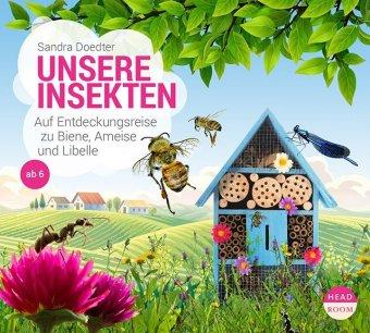 Unsere Insekten, 1 Audio-CD
