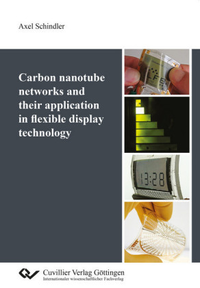 Carbon nanotube networks and their application in flexible display technology