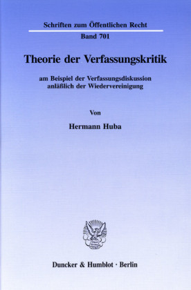 Theorie der Verfassungskritik