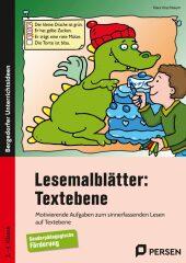 Lesemalblätter: Textebene