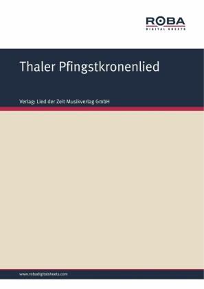 Thaler Pfingstkronenlied