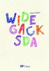 Widegacksda (Partitur)