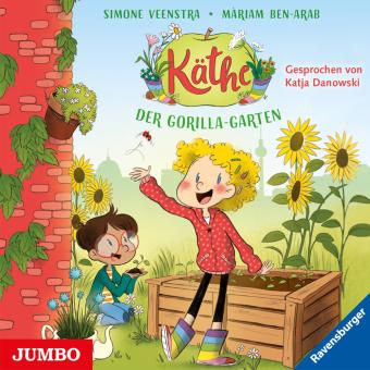 Käthe - Der Gorilla-Garten, Audio-CD