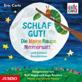 Schlaf gut! Die kleine Raupe Nimmersatt und weitere Geschichten, Audio-CD Cover