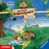 Die wilde Baumhausschule - Nachsitzen um Mitternacht, Audio-CD