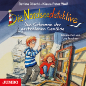 Die Nordseedetektive - Das Geheimnis der gestohlenen Gemälde, Audio-CD Cover