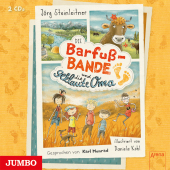 Die Barfuß-Bande und die geklaute Oma, 2 Audio-CD Cover