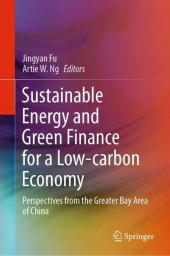 Sustainable Energy and Green Finance for a Low-carbon Economy