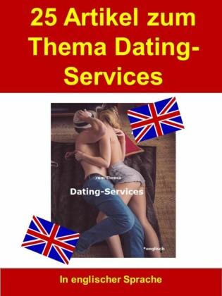 25 Artikel zum Thema Dating-Services